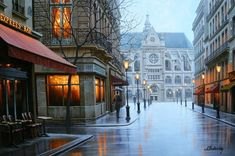 Cityscapes paintings by Russian artist Alexey Butyrsky #artpeople