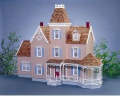 Dollhouse City - Beautiful Sterling Estate Dollhouse Kit $699.99