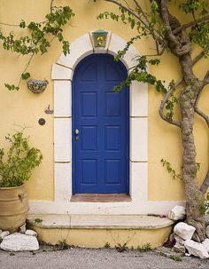 Front Door, Assos, Kefalonia | by All I want for Christmas is a Leica