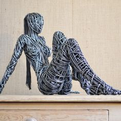 The original wire sculptures of Richard Stainthorp