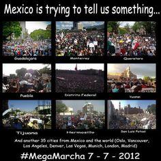 ¡Hagamos que esta foto le de la vuelta al mundo! ¡México esta despierto y trata de decirnos algo!