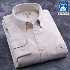 Langmeng 100% cotton striped shirt men long sleeve spring casual shirts oxford dress shirts camisa masculina