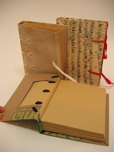 Susan Mills - Artist Book - Bookbinding III by Center for Book Arts, via Flickr