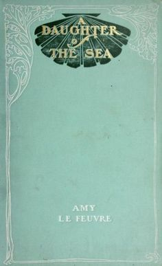I love the gold print inside the sea shell and decorative border all surrounded by a sea foam green colour