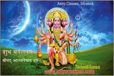 Shri Ekamukhi Hanumatkavacham, Astro Classes. ~ Balaji Veda, Vastu & Astro Classes, Silvassa.