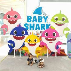 Baby Shark Doo Boy Birthday First Parties 1st Birthdays