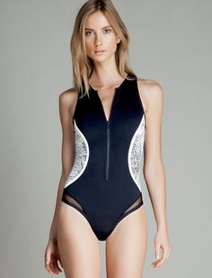 Discover our new Spring-Summer women's underwear collection: bras, panties, bikinis, swimsuits, and lingerie. Bikinis, Swimsuits, One Piece Swimwear, Pyjamas, Night Gown, Underwear, Spring Summer, Seasons, Beach