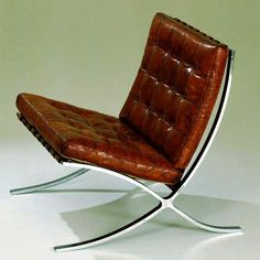 MR 90, Barcelona Chair, Ludwig Mies van der Rohe,  Design: 1929 , Production: 1929 - 30