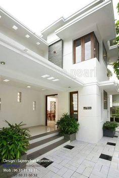 Ideas for design house fasade front doors House Designs Exterior, Small House Elevation Design, House Styling Interior, House Entrance, Kerala House Design, House Front Design, Modern House Exterior, Home Entrance Decor, Home Design Plans