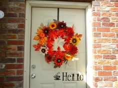 Fall Wreath. It is just about that time again.