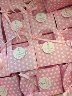#vaptisi, #mpomponieres, #bylafollia Gift Wrapping, Gifts, Gift Wrapping Paper, Presents, Wrapping Gifts, Gift Packaging, Gifs, Wrapping, Present Wrapping