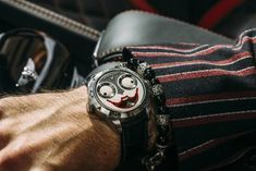 Wristmons - Konstantin Chaykin Poker Hands, Poker Face, Joker Watch, Dogs Playing Poker, Titanium Watches, Famous Dogs, Just A Game, Face Expressions, Watch Case