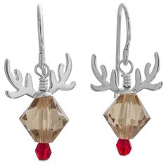 Rudolph Earrings | Fusion Beads Inspiration Gallery