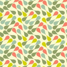 "I won a colourlover's contest with this print. See more here: http://www.colourlovers.com... The pattern is called ""Happy Swing""."