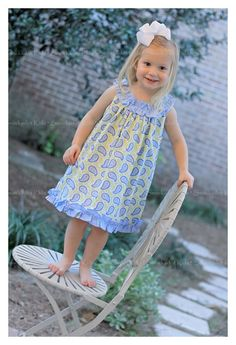 Smockadot Kids cute summer dress