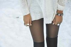Thigh highs tights