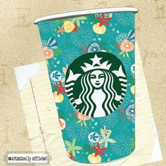 Art by Instagram user @artisticallyafflicted. #WhiteCupContest