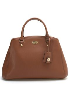 Spotted this Coach Margot Carryall Leather Satchel on Rue La La. Shop (quickly!).
