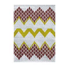 Donna Wilson Small Fairisle Rug Natural/Brown