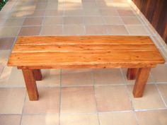 Banco de terraza con madera de palet   Hacer bricolaje es facilisimo.com