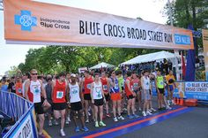 May 6: Broad Street Run! Largest 10 Miler on the East Coast!