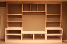 diy wood entertainment center plans - Google Search
