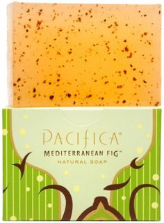 Dry Sensitive Skin? Try Pacifica Mediterranean Fig Natural Soap. Pacifica Soap is Gluten Free & is a Natural Vegan Soap Bar. Earth meets ocean in this green, full-bodied blend with Sweet Fig, Palm, Cyclamen, Moss & Clove, all set in a luscious Sandalwood base. Sensuous & complex, it's a wonderfully imaginative take on classic fig. #Pacifica #Vegan #SoapBar #Soap #Natural #Organic #MediterraneanFig #GlutenFree #Eczema #SensitiveSkin #DrySkin