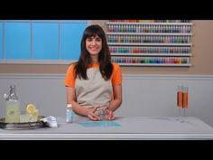 Martha Stewart Crafts Glass Etching Technique