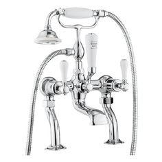 Crosswater - Belgravia Lever Bath Shower Mixer with Kit - BL422DC_LV £348