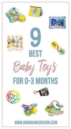 Help your month old baby develop and play with these 9 great newborn toys. Momma McGovern: you… – Newborn About 3 Month Old Toys, 1 Month Old Baby, Baby Development By Week, Baby Monat Für Monat, Best Baby Toys, Newborn Toys, Newborn Care, 3 Month Olds, Before Baby