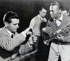 Stan Getz e Miles Davis, Metronome All Stars Sessions, 23 de Janeiro de 1951...  I NEED  TIME MACHINE SO BADLY.