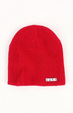 c07b8a01f1e9f Red Beanie by Neff. Buy for  16 from PacSun Mens Beanie Hats