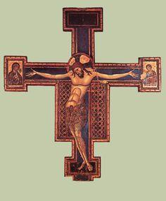 Il Crocifisso della basilica di San Domenico di Bologna è l'opera più famosa di Giunta Pisano ed un'opera chiave della pittura duecentesca italiana.