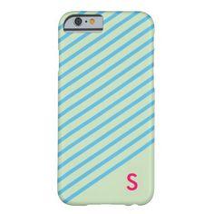 Palm Spring Stripe iPhone 6 case - Mint