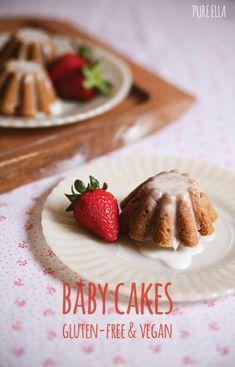 Vanilla Baby Cakes : gluten-free and vegan