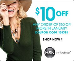 HSN-Coupon for click here www.fromsitetoliving.com/coupons.