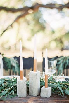 Sticks and Stones - 16 Design Ideas To Steal From Summer Weddings - Photos