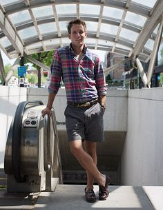 Literally my uniform for the summer. If I had to count my madras and plaid shirts, it would take all summer to do so.