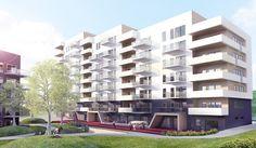 Langbølgen 39 - TAG Arkitekter: Detaljregulering ute på høring som tilrettelegger for i overkant av 70 boliger, konditori og barnehage.