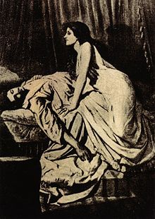 The Vampire, Philip Burne-Jones' most famous work