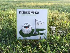 Your Next Stamp: Tee Time stamp set, Golf Green die set -   #yournextstamp