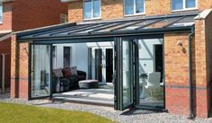 6 Sublime Tips: Roofing Colors Columns skylight roofing architecture.Shed Roofing Structure slate roofing window. Glass Extension, Roof Extension, Extension Ideas, Conservatory Extension, Extension Google, Lean To Conservatory, Conservatory Design, Ikea, Steel Roofing