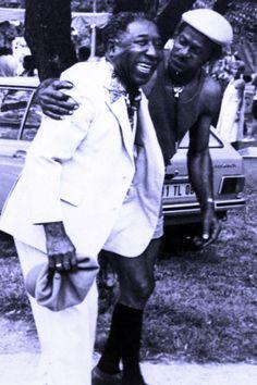 Chuck Berry, Muddy Waters