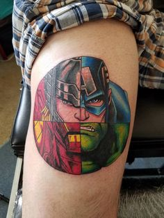 A NEW SUPERHERO TATTO
