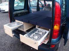 kangoo camper google search camper van pinterest. Black Bedroom Furniture Sets. Home Design Ideas