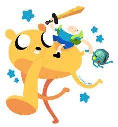 Adventure Time Thing by SkippySkiddo