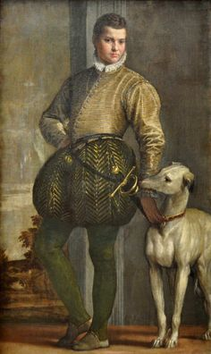 Paolo Veronese (Italian [Renaissance, Mannerism] Boy with a Greyhound, circa Oil on canvas, 68 x 40 in. Metropolitan Museum of Art, New York. Costume Renaissance, Renaissance Kunst, Die Renaissance, Italian Renaissance, Renaissance Paintings, Renaissance Clothing, Metropolitan Museum, Greyhound Kunst, Michelangelo