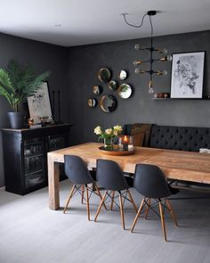 25 Enchanting Modern Dining Room Design Inspirations with Cozy Vibe Dining Room Decor Cozy Design Dining Enchanting Inspirations modern Room vibe Decor, Dining Room Design, Beautiful Dining Rooms, Dining Room Inspiration, Country Dining Room Table, Dining Room Table Decor, Home Decor, Modern Dining Room, Room Design