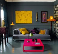Couleur de peinture pour salon et idées déco en 55 photos!