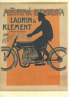 Postcard From Czech Republic to Turkey - Laurin & Klement Motorcycles / Skoda